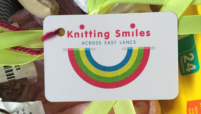 Knitting Smiles Card
